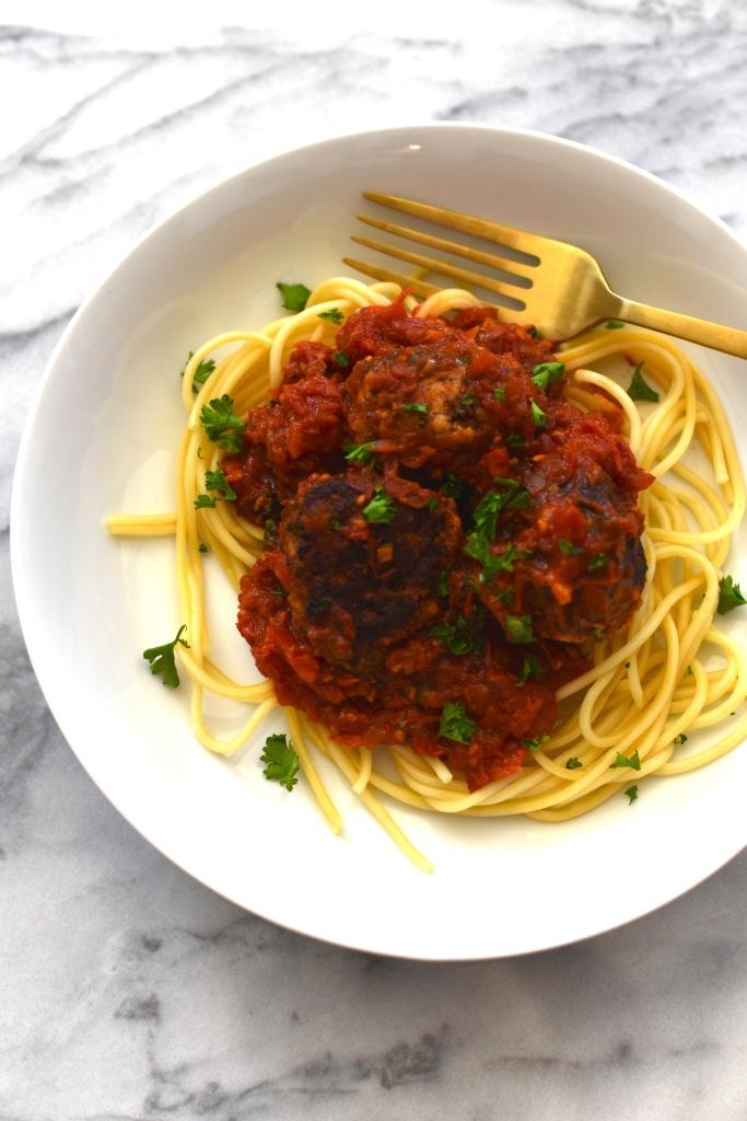 spaghetti and meatballs | simple pairings